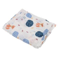 ทบทวน Bolehdeals 1ชิ้นผ้าห่มผ้าห่มสำลีผ้าขนหนูพันเด็กแรกเกิดสุนัข Bolehdeals