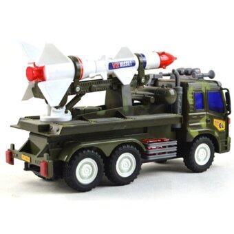 BolehDeals Diecast Military Model Truck Vehicles Children Toy Gift Rocket Missile Car