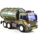 ซื้อ Bolehdeals Plastic Diecast Military Model Truck Vehicles Children Toy Gift Tanker Car จีน