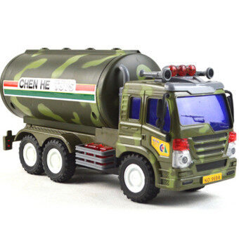 BolehDeals Plastic Diecast Military Model Truck Vehicles Children Toy Gift Tanker Car