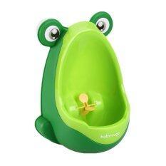 ราคา Bolehdeals Toddler Boy Kid Toilet Frog Potty Urinal Stand Up P** Wee Training Green Intl Bolehdeals ใหม่