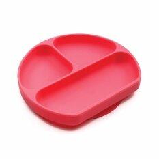 ราคา Bumkins จานซิลิโคน ฐานดูด รุ่น Grip Dish สี Red เป็นต้นฉบับ