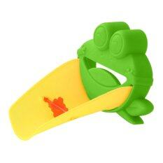 Buytra ก๊อกน้ำอ่างกบสวยปูเด็กๆทั้งที่โครงสร้างล้างมือสีเขียว By Buy Tra.