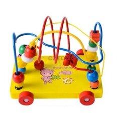 ราคา C2Toy ของเล่นเสริมพัฒนการ รถขดลวดลากจูง สีเหลือง C2Toy ออนไลน์