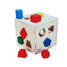 ขาย C2Toy ของเล่นเสริมพัฒนาการ บล็อกหยอดรูปทรง 4 ด้าน C2Toy ถูก