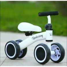 ซื้อ Candy Toy รถจักรยานสามล้อทรงตัว รถสามล้อขาถีบ สีขาว Candy Shop ถูก