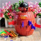 ราคา Candy Toy Shop ถังโจรสลัด ของเล่นเกมเสี่ยงดวง ถังเสียบมีดโจรสลัด ขนาดใหญ่ เเละกระปุกออมสิน เป็นต้นฉบับ Candy Shop