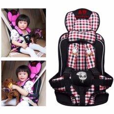 คาร์ซีทแบบพกพา (Child Car Seat) ที่นั่งในรถสำหรับเด็ก เบานั่งนิรภัยสำหรับเด็กช่วงอายุ 9 เดือน - 6 ปี