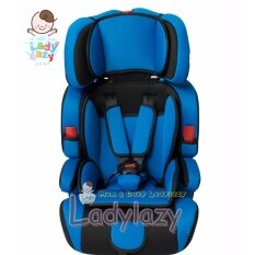 Ladylazyคาร์ซีท(car Seat) ที่นั่งในรถยนต์ขนาดใหญ่ No.sq303 สีน้ำเงิน  .