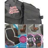 ซื้อ แผ่นรองนั่ง พร้อมปุ่มกันลื่น คาร์ซีท เบบี้ซีท ฯ พร้อมช่องตาข่ายใส่ของ วัสดุดีแข็งแรง Car Seat Protector Storage Pockets ถูก