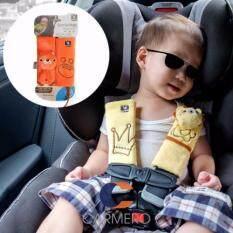 ราคา Carmero ทีหุ้มเข็มขัดนิรภ้ย คาร์ซีท ซีทเบลท์ เป้อุ้ม กระเป๋าเด็ก ลายการ์ตูน Travel Friends Seat Belt Pals Seat Belt Cover Car Seat เป็นต้นฉบับ