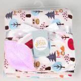 ซื้อ Carter S ผ้าห่มเด็กกำมะหยี่ ลายนกฮูก สีม่วงอ่อน ถูก
