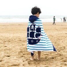 ราคา Cartoon Hooded Baby Towels Bath Towel Cotton Beach Towel Baby Beach Gown Kids Bathrobe Super Absorbent Towel For Children 127X76Cm Intl ใหม่ล่าสุด