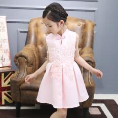 ซื้อ หกสิบเอ็ดสาวชุดเดรส Cheongsam ใหม่