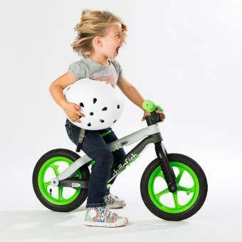 Chillafish BMXie จักรยานทรงตัว สีเขียว-