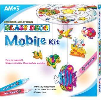 ชุดประดิษฐ์โมบาย Amos Glass Deco Mobile Kit