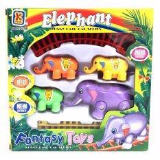 ชุดต่อ รถไฟ รูป ช้าง สำหรับคุณหนู ๆ .