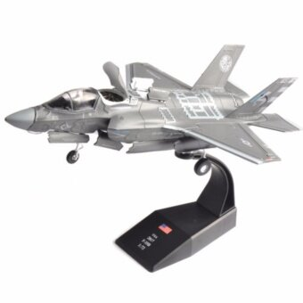Collectible 1/72 USA 2017 F-35B airplane aircraft Model Toys Diecast Model - intl