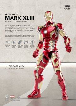 Comicave Studios 1/12 Scale Iron Man Mark XLIII Collectible Figure