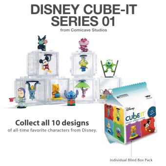 Comicave Studios Cube-it Disney Series 01 (Blind Box) 1 ชิ้น