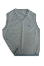 Como เสื้อกั๊กเด็ก ไซส์ S- สีเทาอ่อน By Miroggio.
