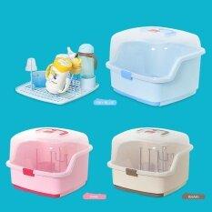 Compact Portable Baby Bottle Drying Rack Smart Design Dishwasher Safe Holder Box Intl ใน จีน