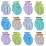 โปรโมชั่น ชุดของขวัญถุงมือเด็กอ่อน ถุงมือเด็กแรกเกิด ถุงมือทารก ผ้า Cotton 100 คละสี แพ็ค 12 คู่ ใน กรุงเทพมหานคร