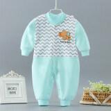 ซื้อ ผ้าฝ้ายชายแรกเกิดทารกชุดชั้นในทารกชุดรัดรูป ถูก