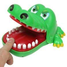 จระเข้แท้ผลักดันฟันกัดของเล่น - นานาชาติ By Diylooks.