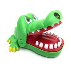 ของเล่น Crocodile Dentist จระเข้งับนิ้ว (สีเขียว)  .