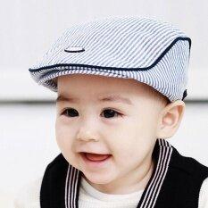เด็กทารกน่ารักเด็กทารกเด็กผู้ชายลาย Beret หมวก Peaked เบสบอลหมวก Casquette-นานาชาติ.