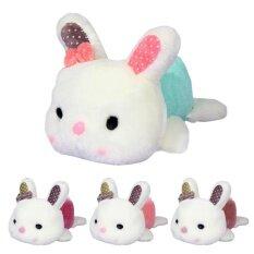 กระต่ายน่ารักกระต่ายน้อยตุ๊กตาของเล่นตุ๊กตาเล็กๆตุ๊กตาสัตว์วันเกิดของขวัญ.