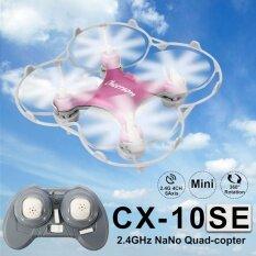 โดรนจิ๋ว Cx 10 Mini 2 4G 4Ch 6 Axis Led Rc Quadcopter Rtf Micro Drone เป็นต้นฉบับ