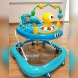 D Kids Toys รถหัดเดิน รถเด็กหัดเดิน เจ้าเป็ดสีฟ้า มีเสียงดนตรี มีไฟ ปรับระดับได้ เป็นต้นฉบับ