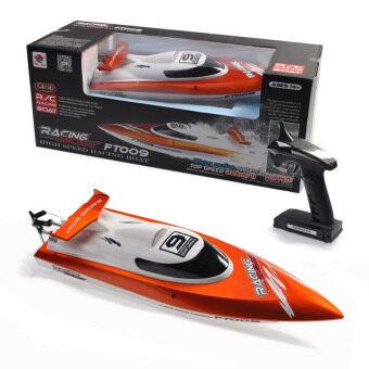 โปรโมชั่น D Product By Feilun เรือเร็วไฟฟ้า บังคับวิทยุ 2 4 Ghz Speed Boat รุ่น Ft009 Orange ถูก