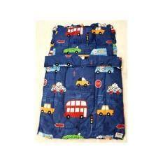 ราคา D2Kids ที่นอนอนุบาล ผ้าห่ม เกรดเอ ผ้าคอตต้อน100 ลายรถสีน้ำเงิน รุ่นใหม่