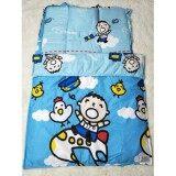 D2Kids ที่นอนอนุบาล ผ้าห่ม เกรดเอ ผ้าคอตต้อน100 ลายเด็กชายสีฟ้า เป็นต้นฉบับ