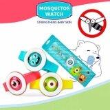 Daiku สายข้อมือกันยุงและกันแมลง ที่กันยุง ปลอดภัยไร้สารเคมี สำหรับเด็ก แพ็ค 2 ชิ้น Bikit Monster Anti Mosquito Watch Pack Of Two เป็นต้นฉบับ