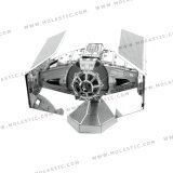 โปรโมชั่น Darth Vader S Tie Fighter 3D Metal Model Kit โมเดลโลหะ Star Wars Darth Vader S Tie Fighter 3D Metal Puzzle ใหม่ล่าสุด