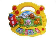 ส่วนลด Dd Baby Animal Farm Piano ออร์แกนมินิเสียงสัตว์ สีเหลือง Dd Baby