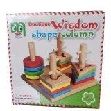 ขาย Dd Baby ของเล่นไม้ เสริมพัฒนาการ เสียบหลักเกลียว 4 เสา Dd Baby ใน กรุงเทพมหานคร
