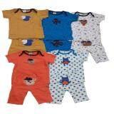 ราคา Dd Kids ชุดเสื้อแขนสั้นเด็กอ่อนพร้อมกางเกง ขนาด 6 24 เดือน รูปแบบน่ารักหลากสีหลากลายพิมพ์น่ารัก Dd Kids ใหม่