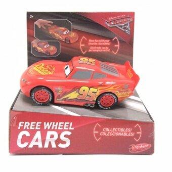ของเล่น ของสะสม Disney Cars 3 Free Wheel Cars Assortment - Red