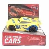 โปรโมชั่น ของเล่นของสะสม Disney Cars 3 Free Wheel Cars Assortment Yellow Cars