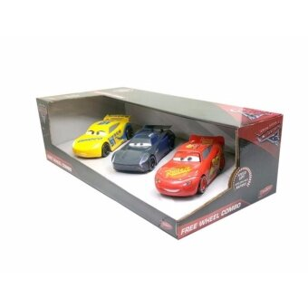 ของเล่นของสะสม Disney Cars 3 Free Wheel Combo 3Pk