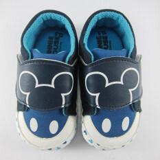 ขาย Disney Mickey Mouse รองเท้าผ้าใบ เด็กชาย ลาย ดิสนียื มิคกี้ เมาส์ สีกรม 13 ออนไลน์