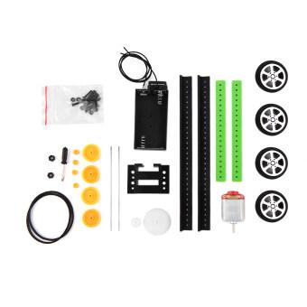 DIY Mini Battery Powered Car Model Kit Children Kids Educational Toy Gift