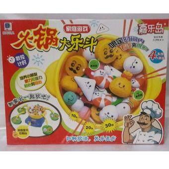 DM toys ของเล่นหม้อสุกี้ เกมส์แข่งตักสุกี้