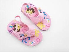 ราคา Dollasy บริสุทธิ์รองเท้าแตะฤดูร้อนลูกสาว ถูก
