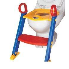ขาย Dollychic ฝารองนั่งชักโครกเด็ก แบบมีบันได ถูก ไทย